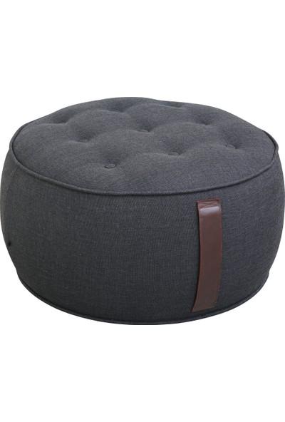 Hamm Tasarım Sufle Puf - Siyah