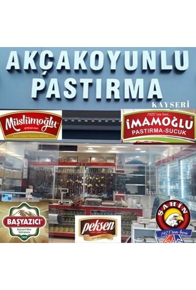 Akçakoyunlu Antrikot Pastırma Kayseri 500 gr