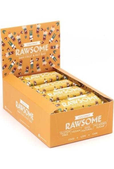 Rawsome Hindistan Cevizli Meyve Barı 40 gr 16 Adet