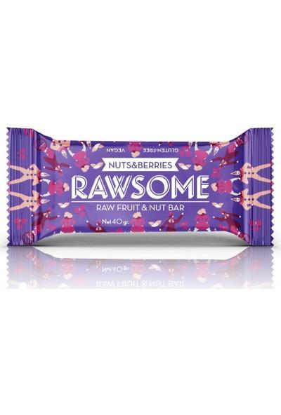 Rawsome Karışık Kuruyemişli Meyve Barı 40 gr 16 Adet