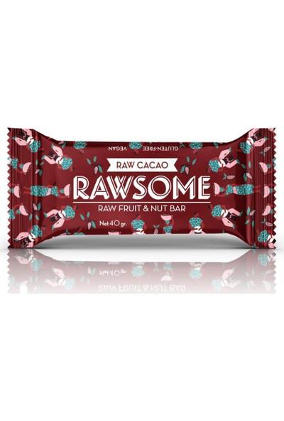 Rawsome Kakaolu Meyveli Fındıklı Bar 40 gr 16 Adet