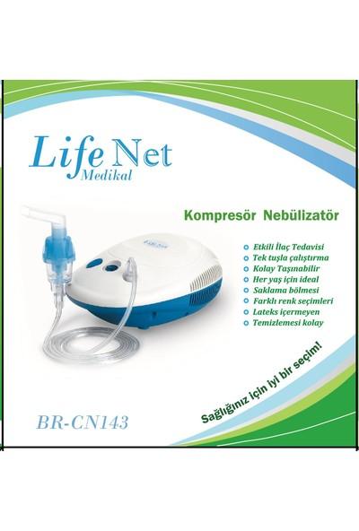 Life Net Medikal Kompresörlü Cihaz Buhar Maske BRCN143