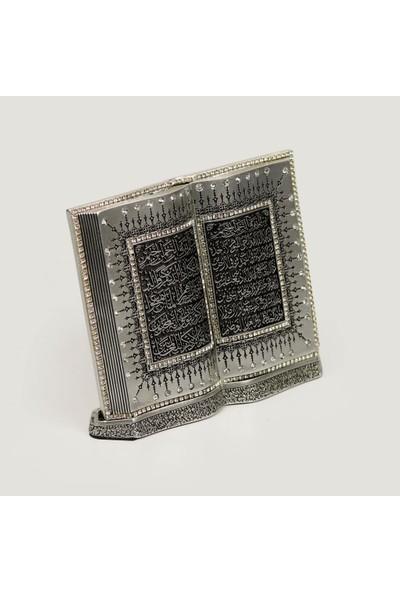 Berk Hediyelik Kitap Ayetel Kürsi Gümüş 08