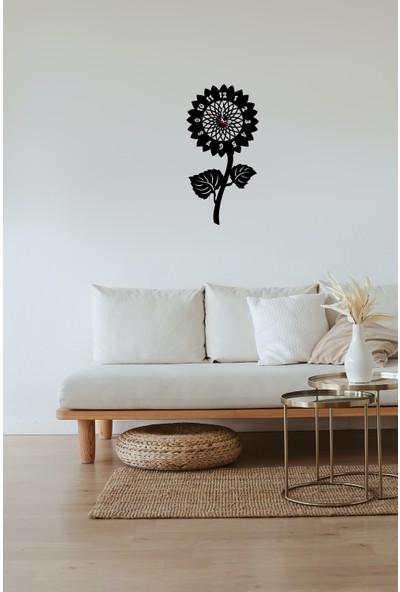 Newnow Dekorasyon Ayçiçek Duvar Saati