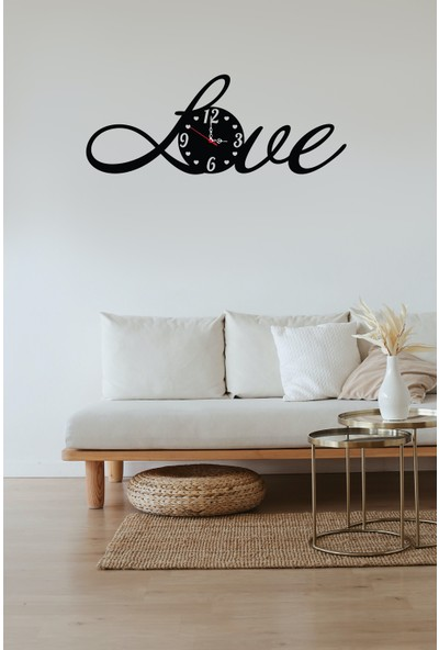 Newnow Dekorasyon Love Duvar Saati