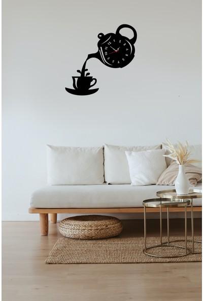 Newnow Dekorasyon Bi'çay Duvar Saati