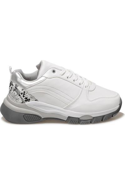 Torex Claudia W Beyaz Kadın Sneaker Ayakkabı