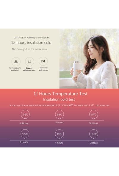 Xiaomi Termos 500 ml Paslanmaz Çelik Sızdırmaz 12H