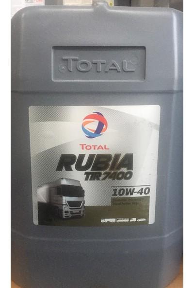 Total Rubıa Tır 7400 10W-40 17,5 kg