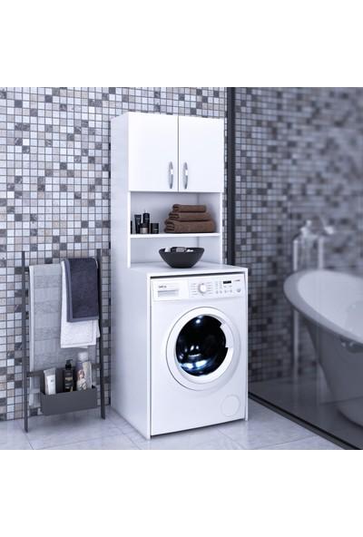 Nwin Home Banyo Dolabı Çamaşır Makinesi Dolabı