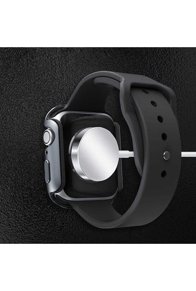 Wiwu Apple Watch Series 5 44 mm Aluminum Alloy Soft Rubber Kılıf