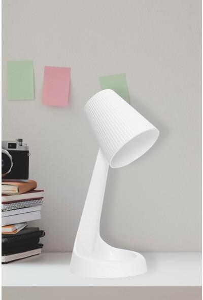 Hmy Design Pulie Abajur Beyaz