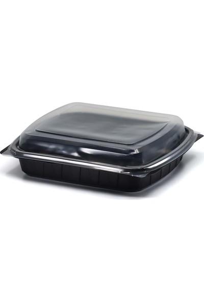 Limera - Bölmesiz Yemek Kabı Seti - 50'li