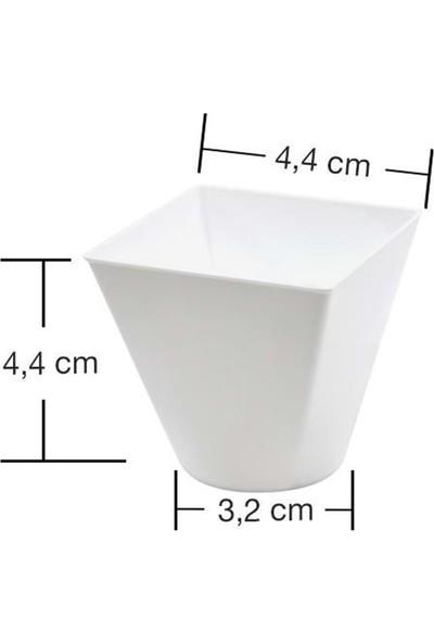 Rubikap Plastik Mini Kap Beyaz 60 cc