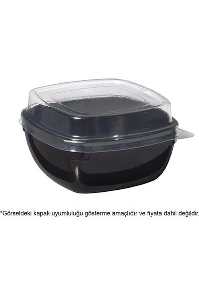 Rubikap Kristal Kare Kase Siyah 300 ml - 12'li