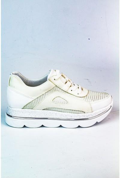 Marine Shoes Kadın Beyaz Spor Ayakkabı