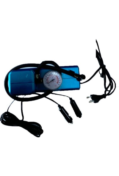 Hanedanev Saatli Hava Kompresörü 300 Psı 12 V Çakmaklık ve 220 V Elektrikli