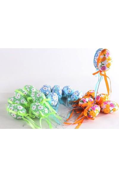 Beysüs Paskalya Yumurtası Karışık Renkli Çubuklu 12 Adet