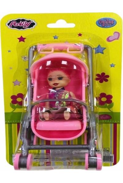 Anlily Oyuncak Bebek Arabası ve Bebek