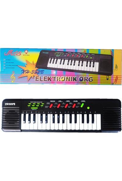 Sağlam Oyuncak 32 Tuşlu Elektronik Müzik Demolu Çocuk Org