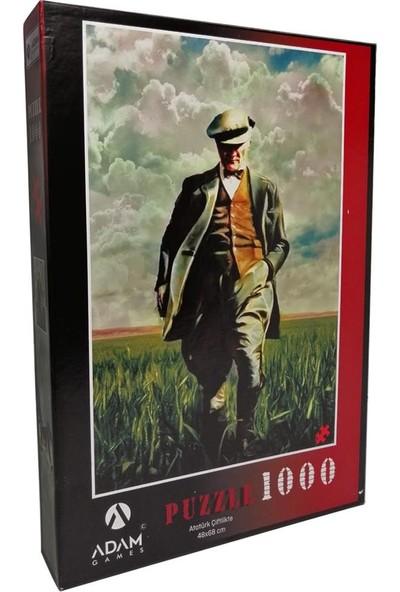 Adam Games 1000 Parça Atatürk Çiftlikte Puzzle