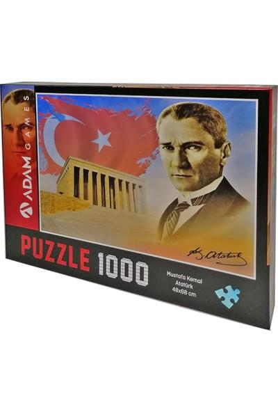Adam Games 1000 Parça Mustafa Kemal Atatürk Puzzle