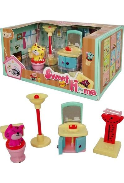 Toru Toys Torutoys Minik Tatlı Evim Banyo Aksesuarları