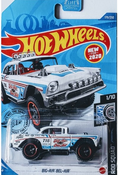 Hotwheels Hot Wheels Tekli Arabalar Bıg-Aır Bel-Aır GHF08