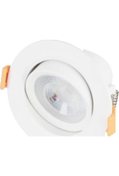 Cata CT-5200 6W/6400K Lal LED Spot (Beyaz) Cata