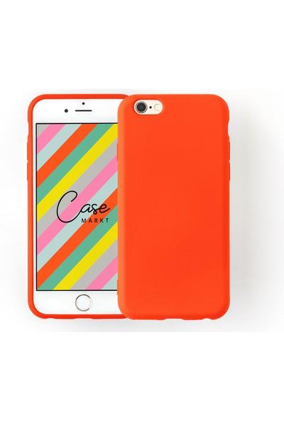 Case Markt Apple iPhone 6 Silikon Telefon Kılıfı Mikro Fiber Iç Yüzey
