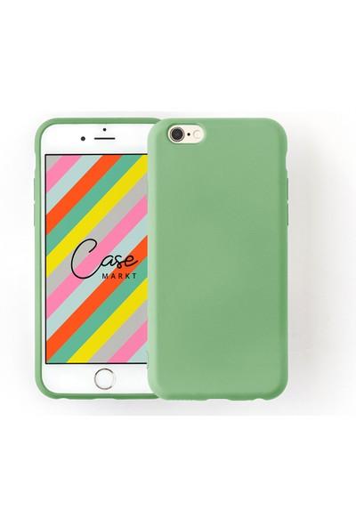 Case Markt Apple iPhone 8 Silikon Telefon Kılıfı Mikro Fiber Iç Yüzey