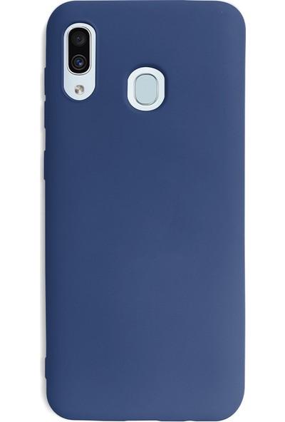 Case Markt Samsung Galaxy A20S Silikon Telefon Kılıfı Mikro Fiber Iç Yüzey