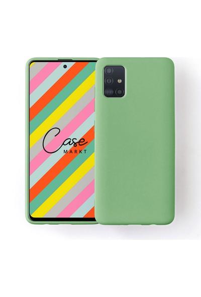 Case Markt Samsung Galaxy A31 Silikon Telefon Kılıfı Mikro Fiber Iç Yüzey