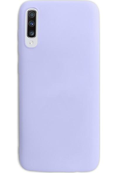 Case Markt Samsung Galaxy A50 Silikon Telefon Kılıfı Mikro Fiber Iç Yüzey