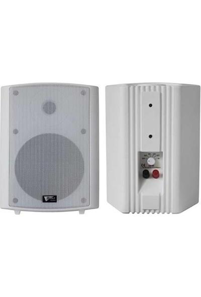 Gold Audio Ga-8t-W Duvar Tipi Hoparlör - Beyaz