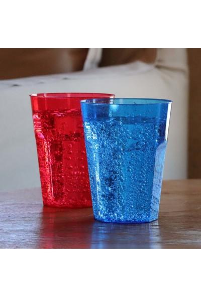 Rubikap Kristal Kokteyl Bardak Mavi 270 cc - 20'li
