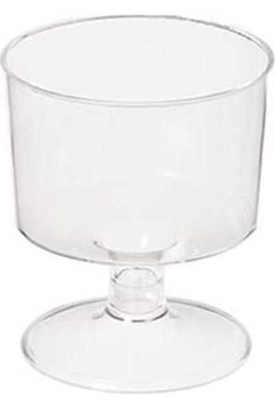 Rubikap Ayaklı Shot Bardağı Şeffaf 50ML - 6'lı