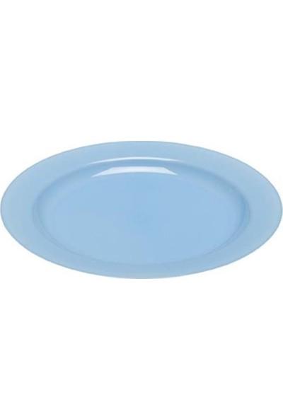 Rubikap Plastik Mavi Tabak 19 cm - 10'lu