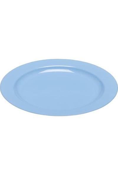 Rubikap Plastik Mavi Tabak 26 cm - 10'lu