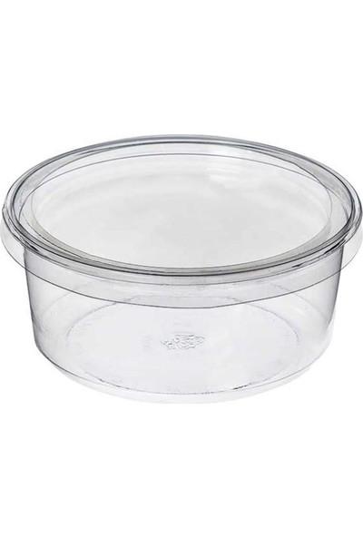 Özge Plastik Sup Kase Düz Kapak 100 mm - 50'li