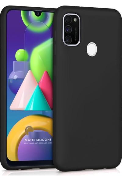Coverest Samsung Galaxy M21 - M30S Yumuşak Silikon Kılıf Siyah