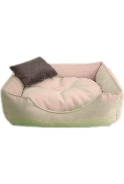 Catyat Elite Kedi & Köpek Yatağı 50X40 cm Krem
