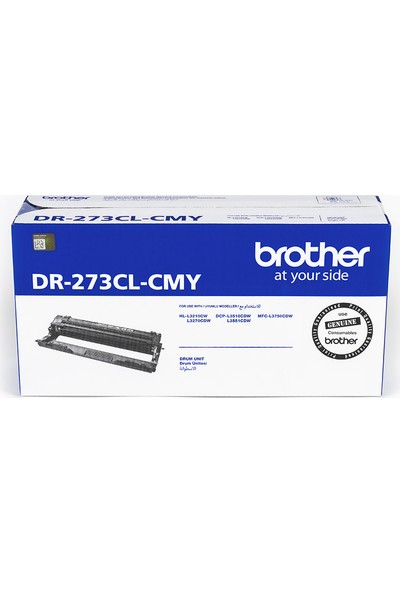 BROTHER DR-273CL-CMY Renkli Drum Ünitesi (18000 Sayfa)