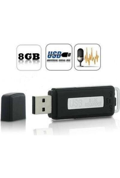 Repex USB Flash Bellek 8GB Ses Kayıt Cihazı 15 Saat Ses Kayıt