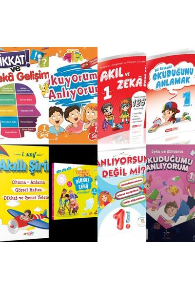 Karma Kitaplar 1.sınıf Bilsem-Dikkat-Zeka-Oku-Anla Seti 6 Yayın Bir Arada