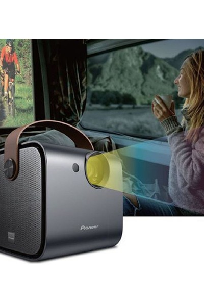 Pioneer Taşınabilir Seyahat Projektörü SDA-RP100