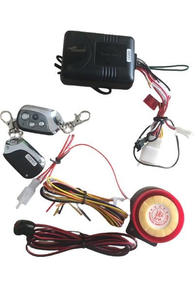 OEM 12V Motosiklet Alarm Sistemi Çalıştırma Özellikli Invels
