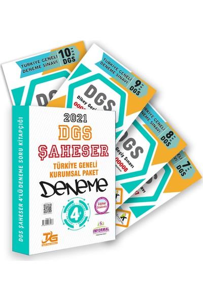 İnformal Yayınları 2021 DGS Tg Kurumsal 4lü Dijital Çözümlü Şaheser Deneme Paketi