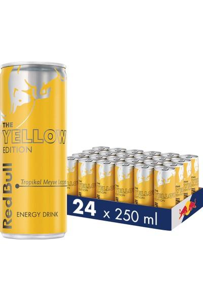 Red Bull Enerji İçeceği, Tropikal Meyve, 250 ml (24'lü Paket, 24x250 ml)