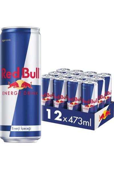 Red Bull Enerji İçeceği, 473 ml (12'li Paket, 12x473 ml)